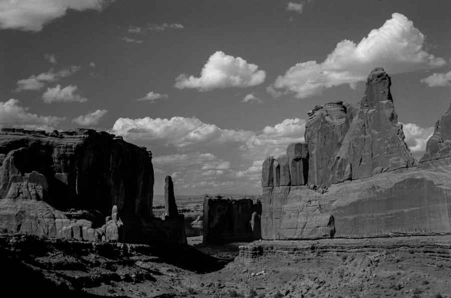 Arches National Park, Leica M3, Kodak TMax-100