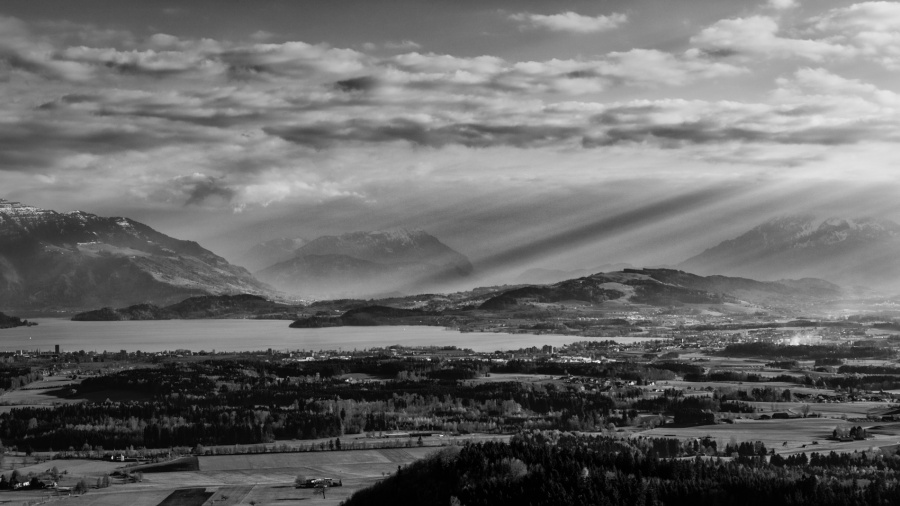 Albis Pass Sony A7, Black and white conversion in SilverEfx Pro
